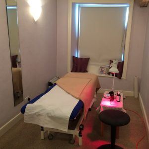 Therapy room at Queen Street Consulting Rooms